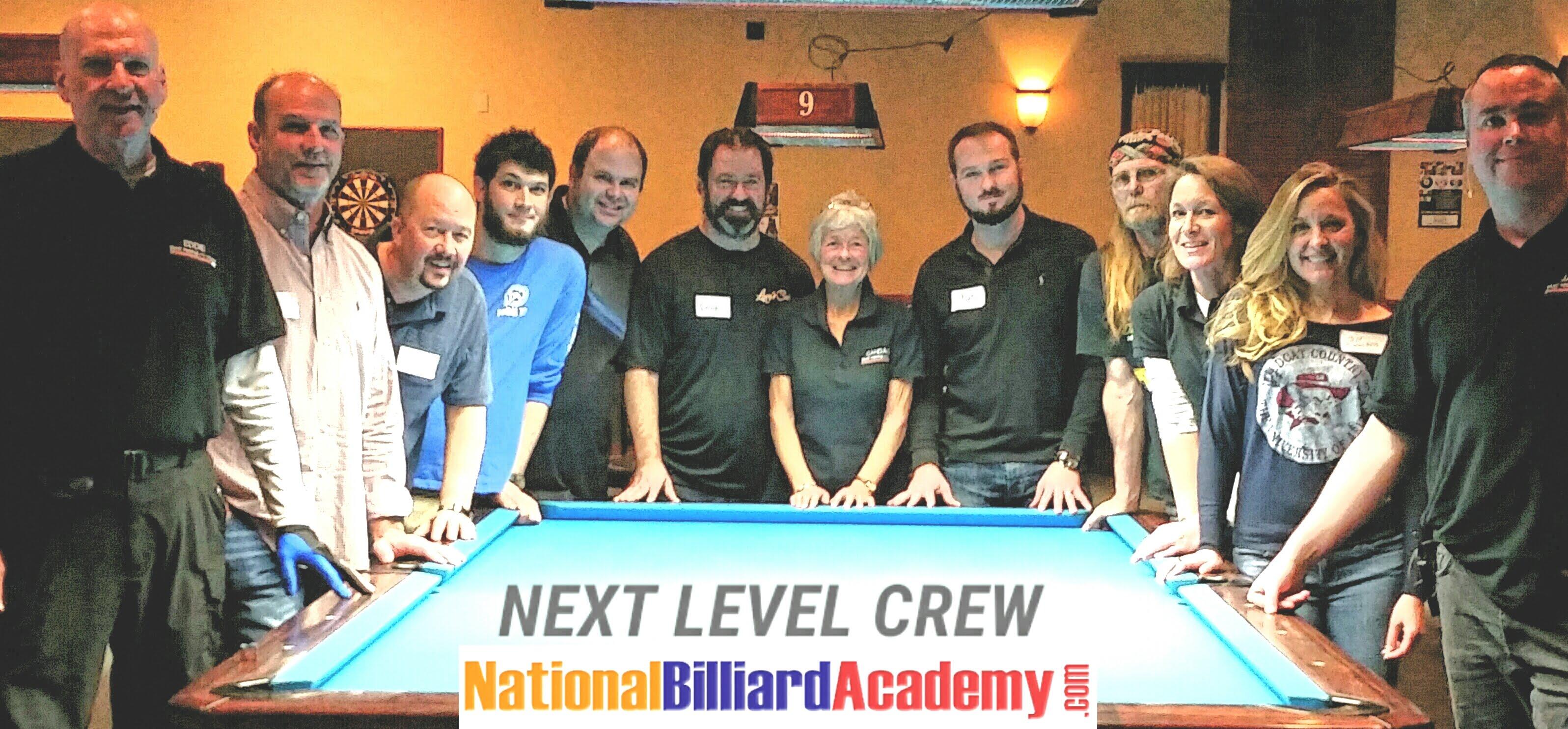 Pool School at National Billiard Academy
